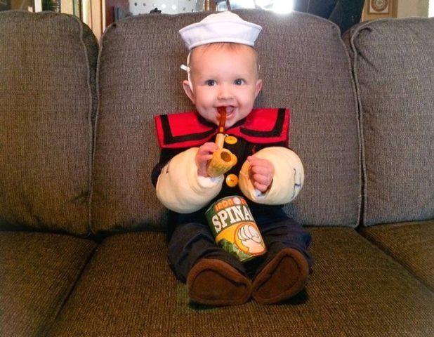 Infant Popeye Costume  sc 1 st  Pinterest & Infant Popeye Costume | Disfraces | Pinterest | Popeye costume