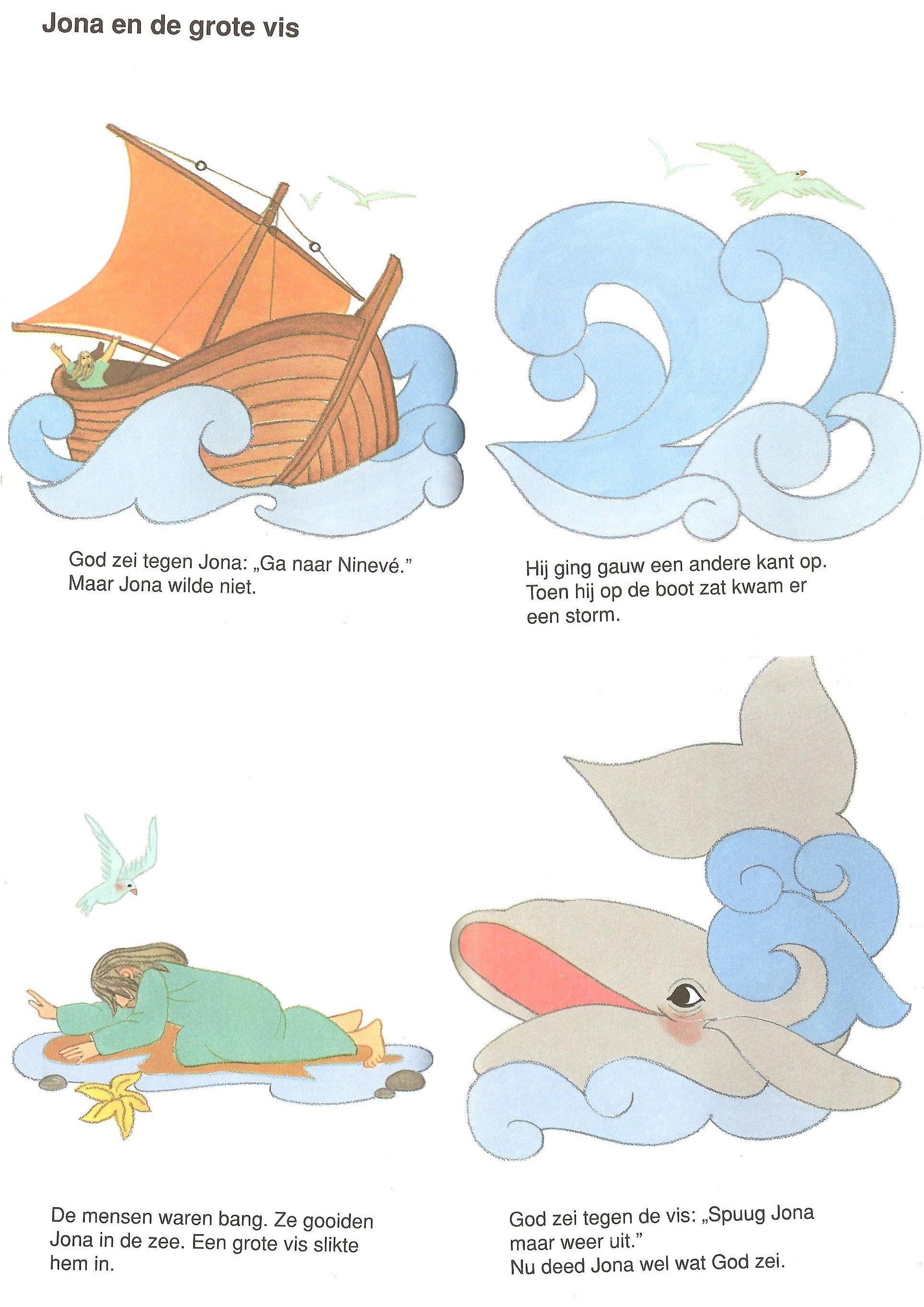 Jona En De Grote Vis Grote Vis Kind Bijbel