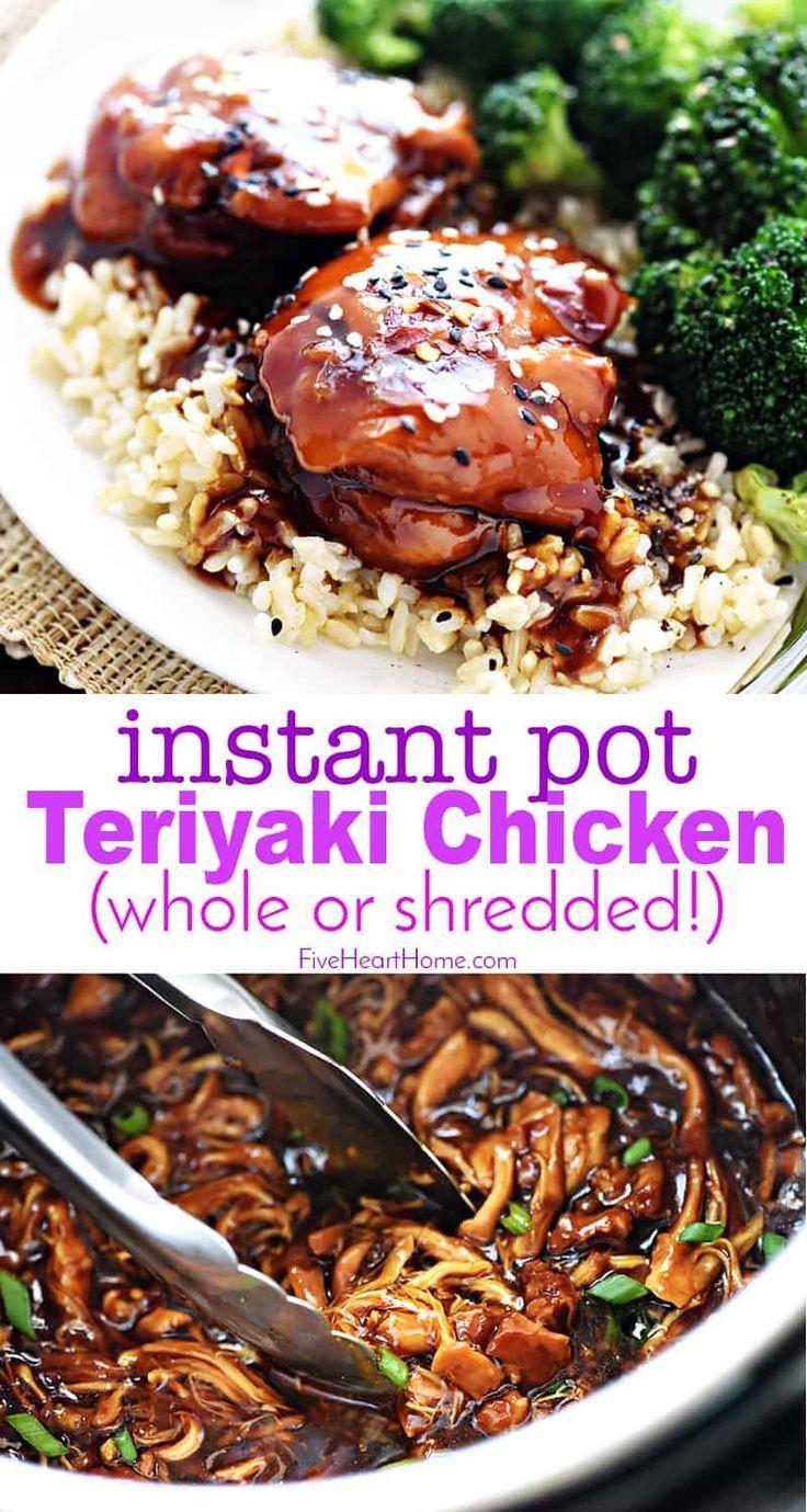 Photo of Instant Pot Teriyaki Chicken ~ SO delicious! • FIVEheartHOME