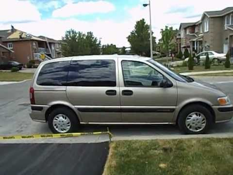1999 Chevrolet Venture Startup Exhaust In Depth Tour Chevrolet Venture Chevrolet Venture