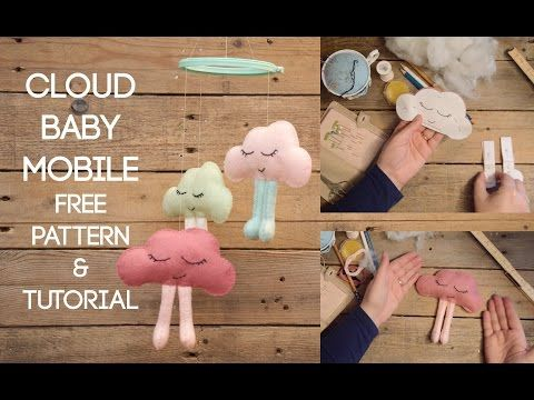 Cloud Baby Mobile Free Pattern & Tutorial - Miss Daisy Patterns