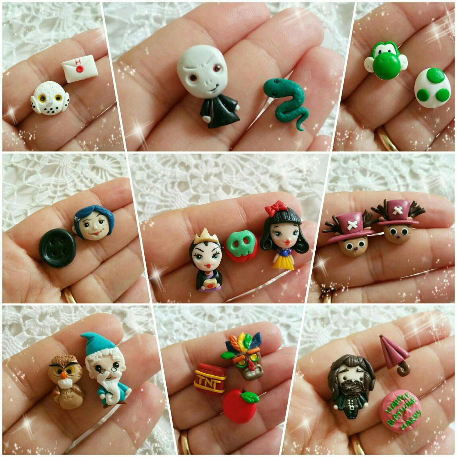 New  stuff  in My Shop!  Earrings  studs for every Kind !