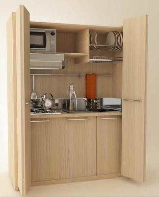 mueble-cocina-compacto-uno | Cocinas | Cocina compacta, Cocinas y ...