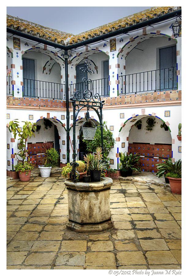Andalusian Patio Patios Sevillanos Patio Español Decoración De Hacienda