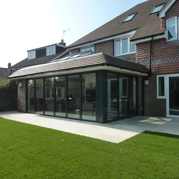 Metal Post Patio Flat Roof Extension Patio Roof Roof Architecture