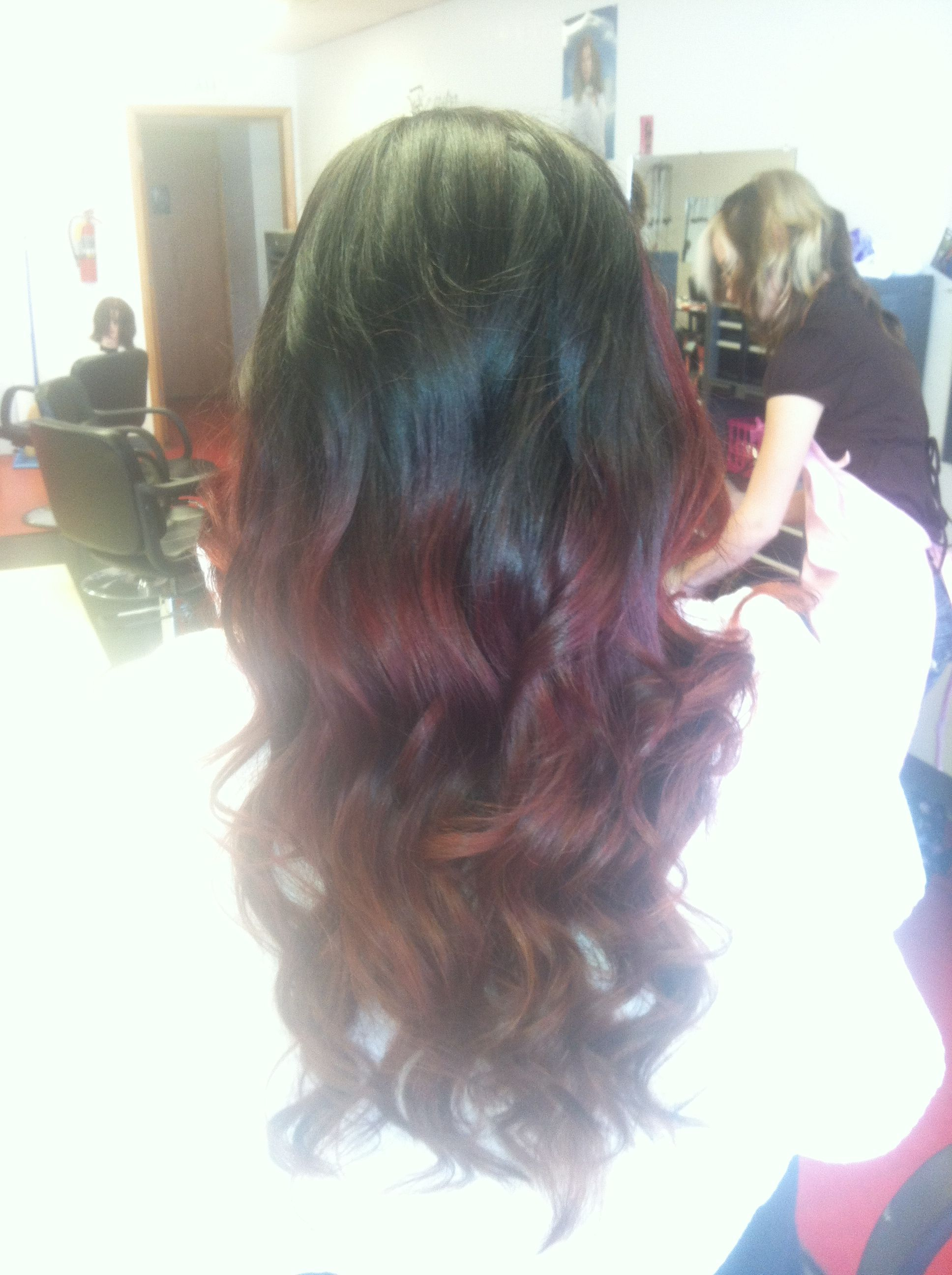 My ombré Job on Brittany! Nailed it!