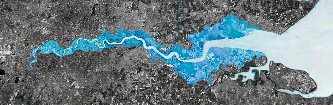 The London flood plain