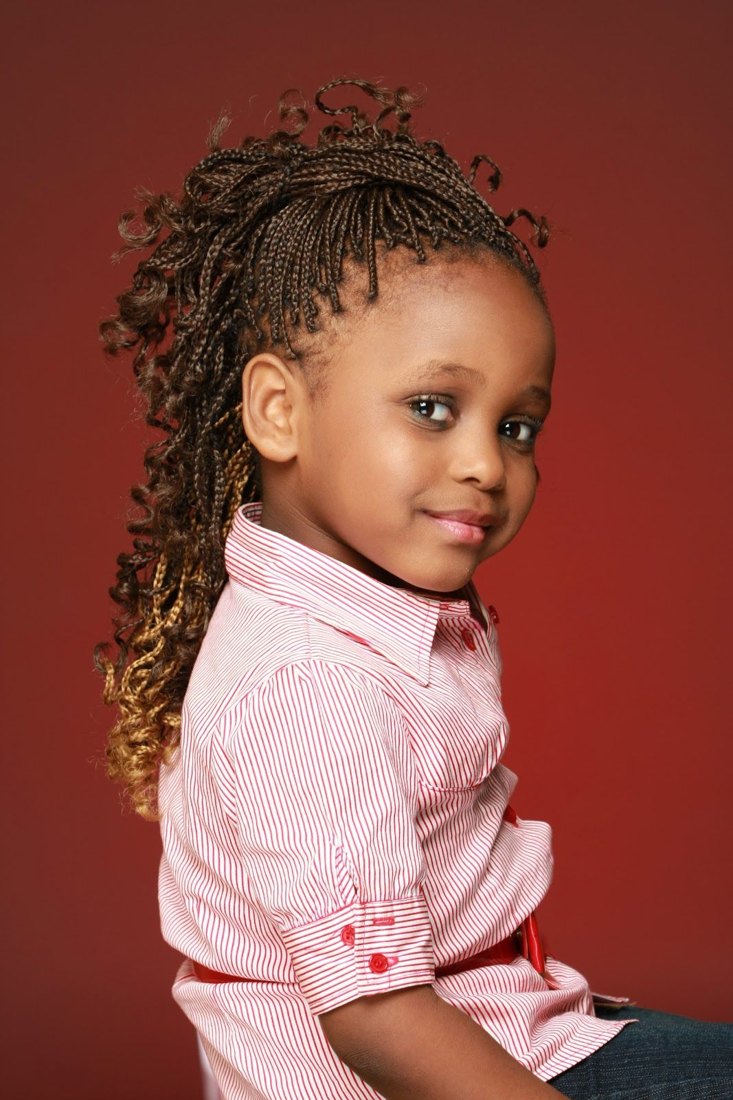 Kid hairstyles with beads kid hairstyles pinterest beautiful - A Few Braided Hairstyles For Black Women Include Cornrows Two Strand Twists Free Kid