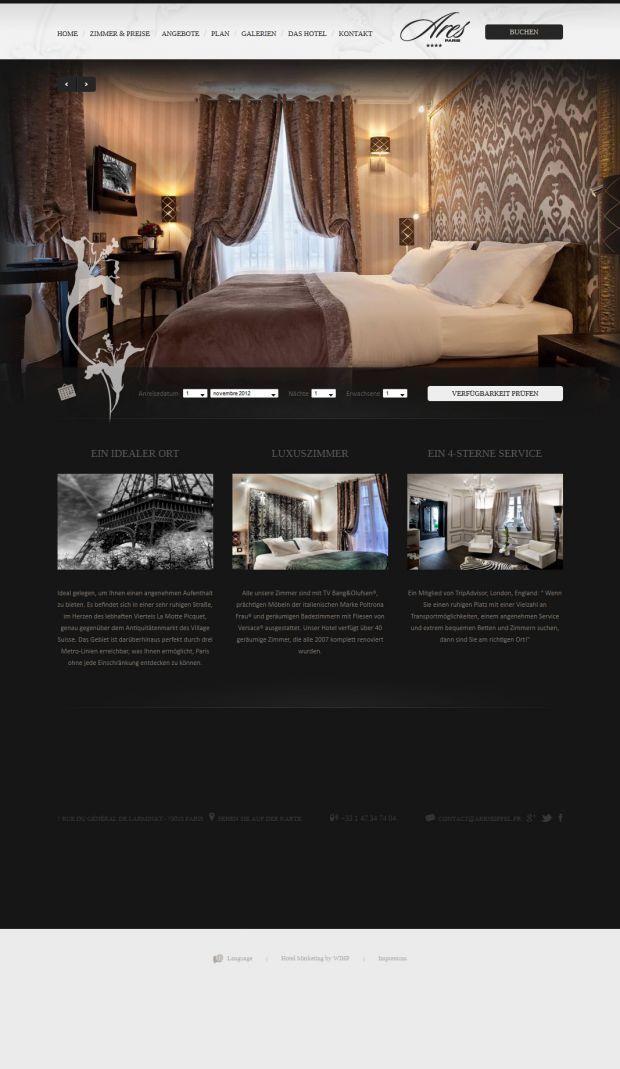 Hotel Ares Eiffel Paris Official Site Boutique Hotel Paris