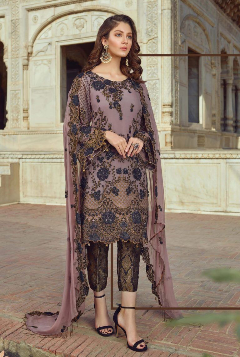 601ed97781 Akbar Aslam Luxury Embroidered Chiffon Pakistani Collection Suits 11 ...