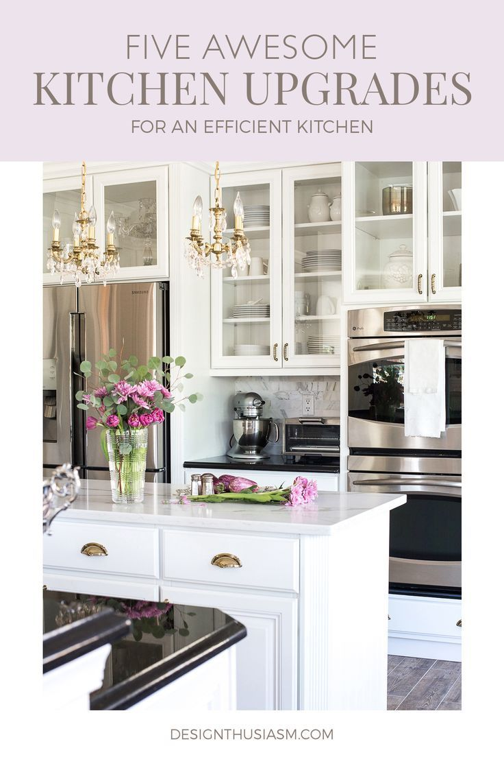 Kitchen Upgrades 5 Things I Do To Keep My Kitchen Efficient In 2020 Kitchen Upgrades Affordable Kitchen Remodeling Kitchen Renovation