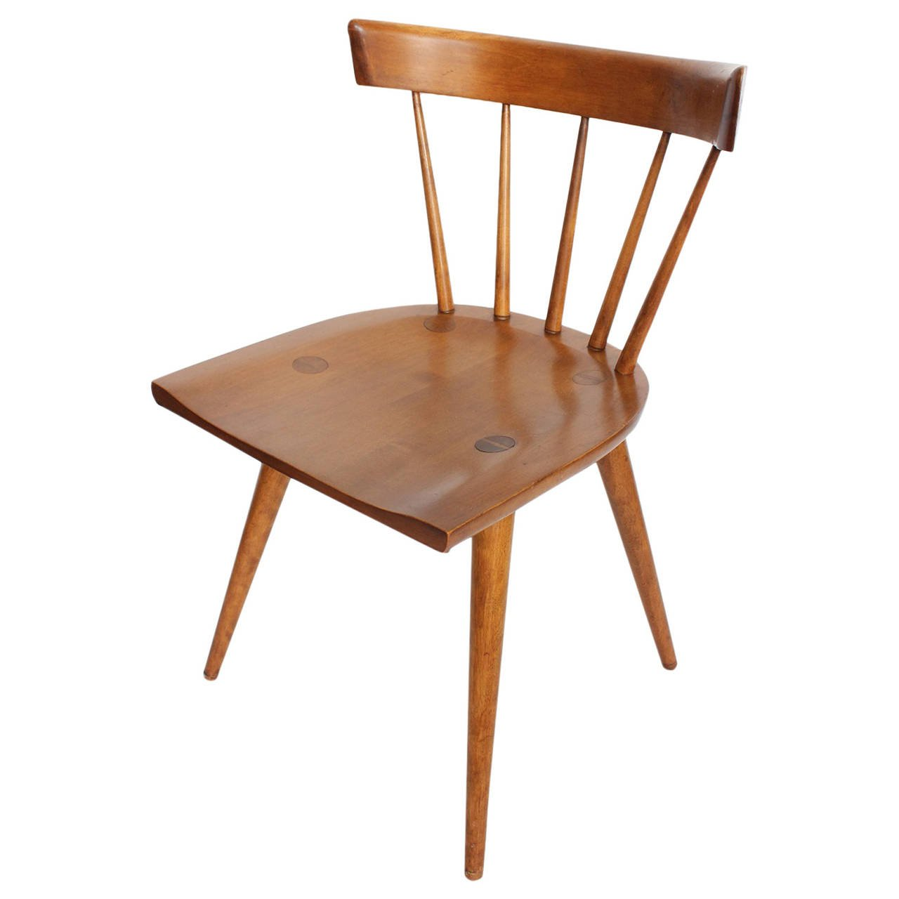 Paul Mccobb Chairs Mid Century Spindle Back Desk Side Chair By Paul Mccobb In 2019