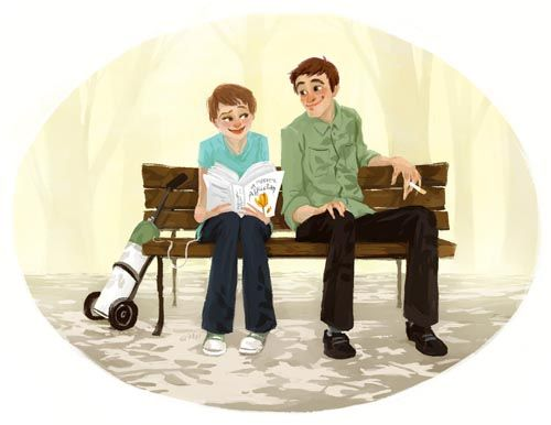 The Fault In Our Stars, by John Green. It's a love story, really, and funny only in the way John Green can be funny about something as serious as cancer. -KJP