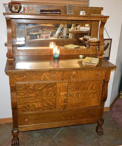 Antique Buffet Prices 1920's Antique Buffet or Sideboard