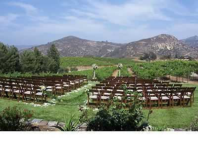 Orfila Vineyards And Winery Escondido San Go Wedding Location 92025