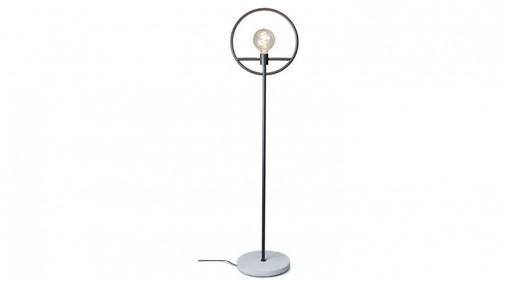 Salt Pepper Georgia Floor Lamp Black Table Lamps