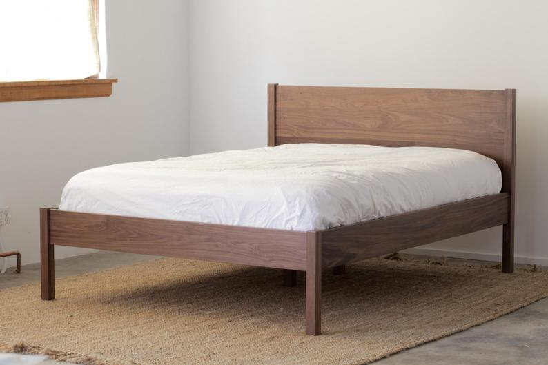 Solid Wood Berkeley Bed Frame And Headboard Available In Other