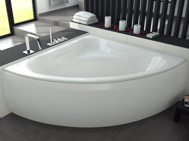 Acrylic Badkar Mia 120 130 140 Cm Badrum In 2019 Bathtub