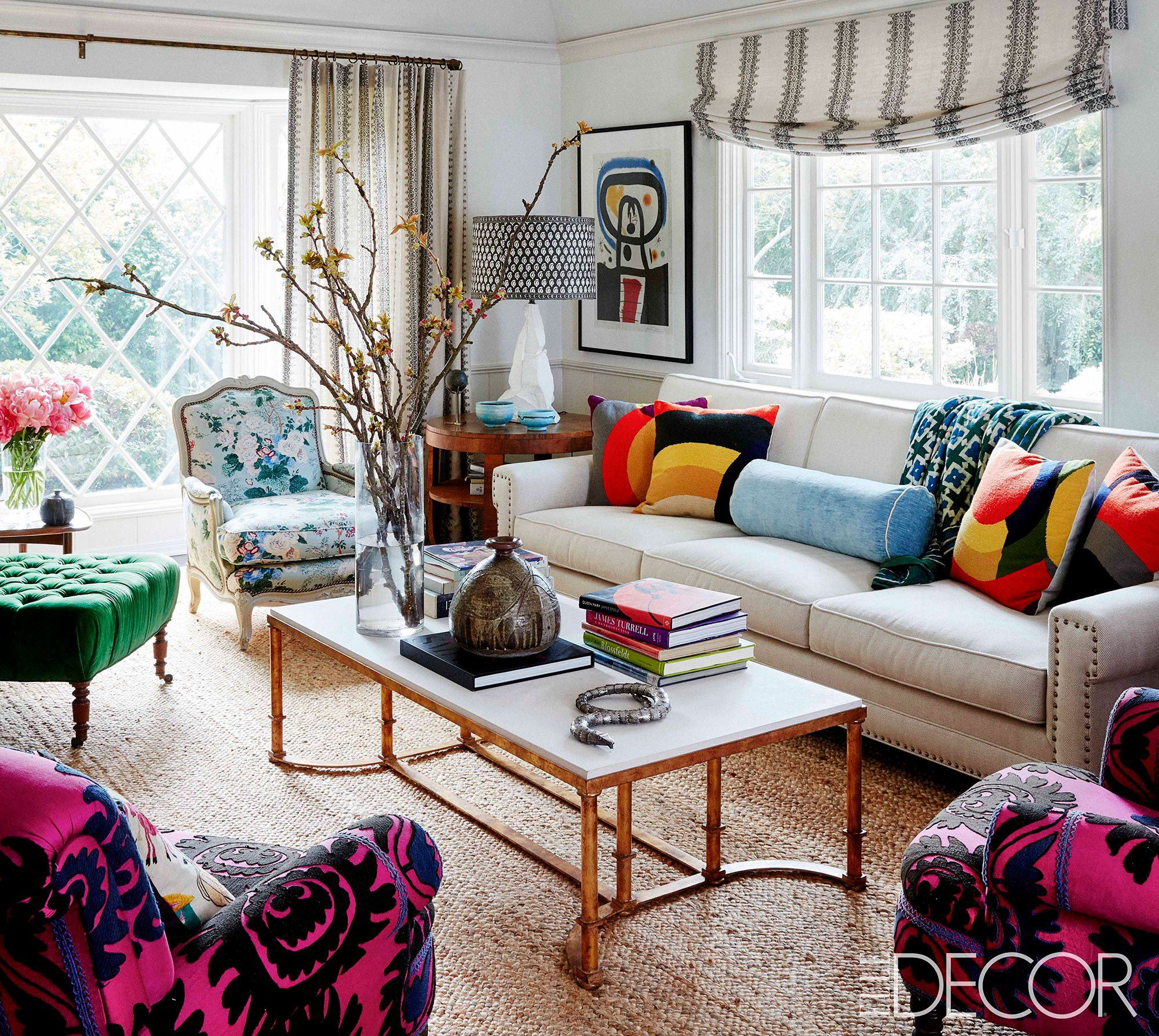 The speechless actress outfitted her new space with help from a fellow brit in l a decorator peter dunham