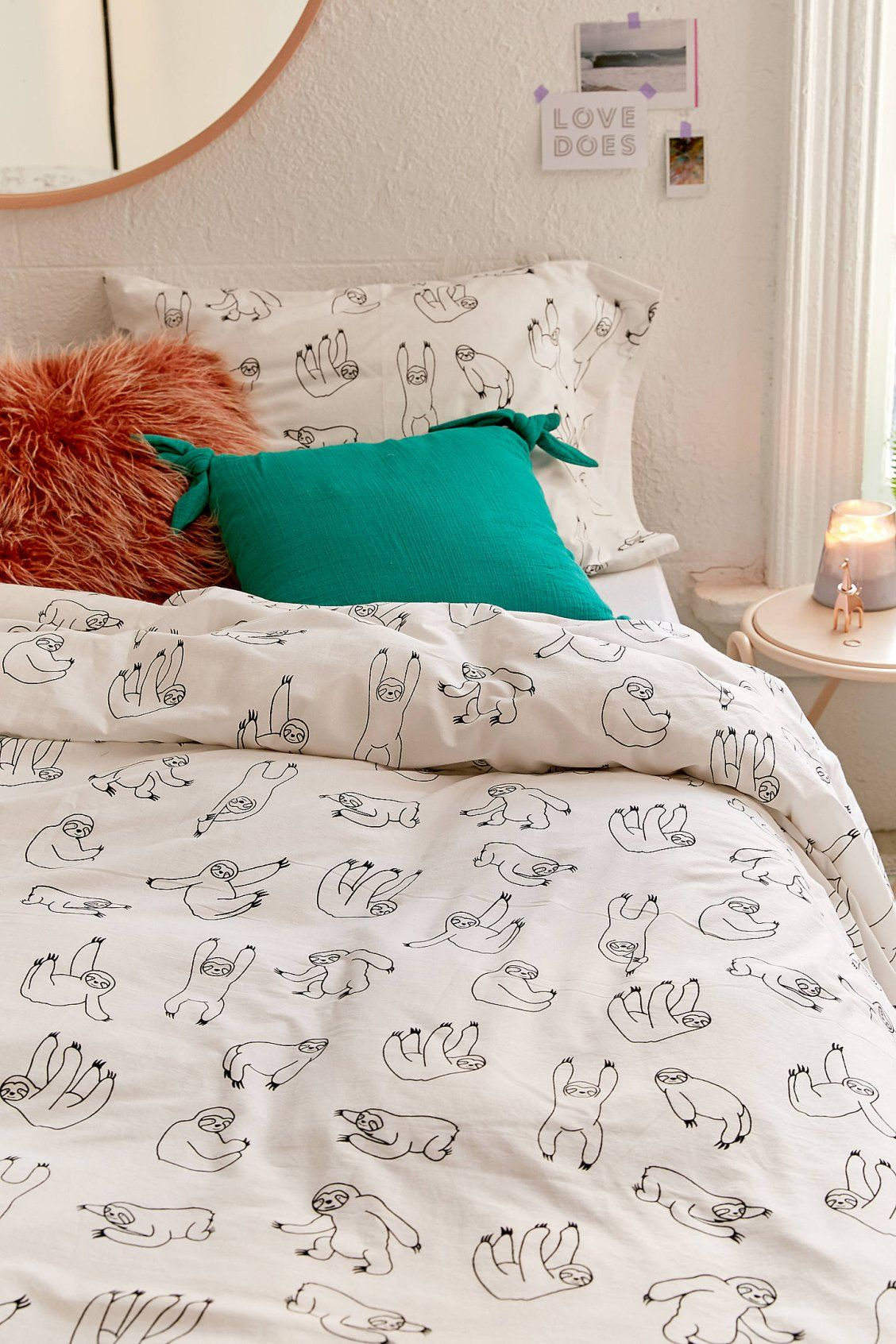 Sloth duvet cover sloth urban outfitters and duvet