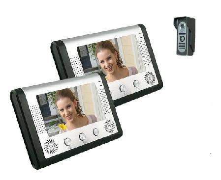 Video Door Phone Intercom Doorbell with Night Vison 2 Monitor 1 Camera 801MA12 H1040 Online with  sc 1 st  Pinterest & Video Door Phone Intercom Doorbell with Night Vison 2 Monitor 1 ...