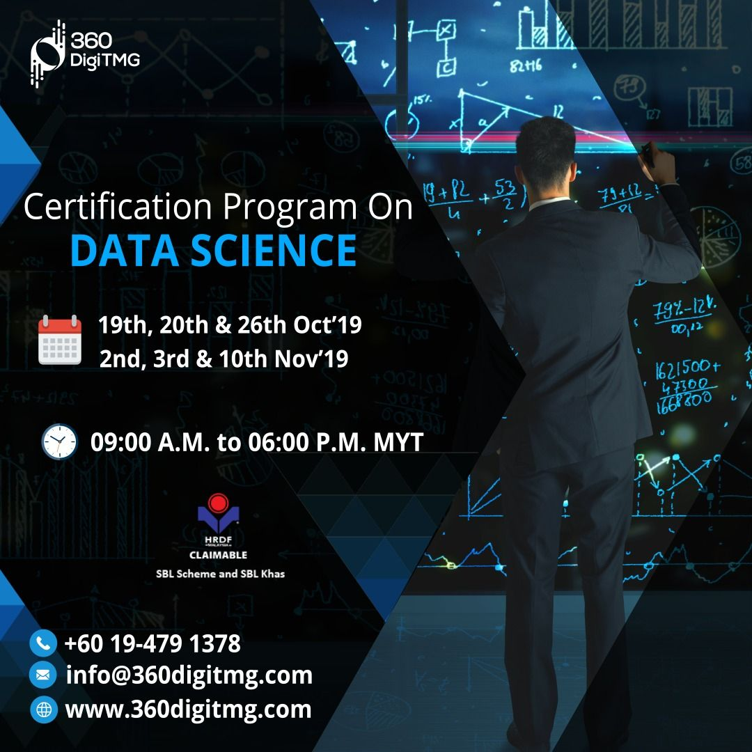 Certification Program In Data Science Focuses On The MUST