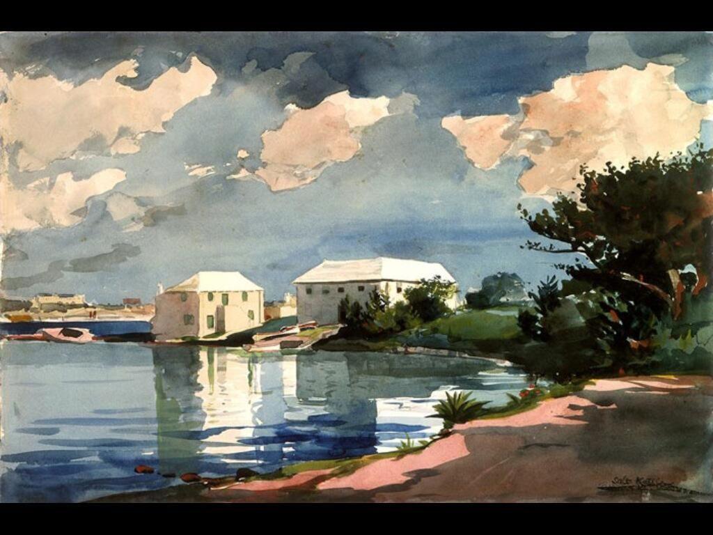 Winslow Homer「Salt Kettle, Bermuda」(1899)