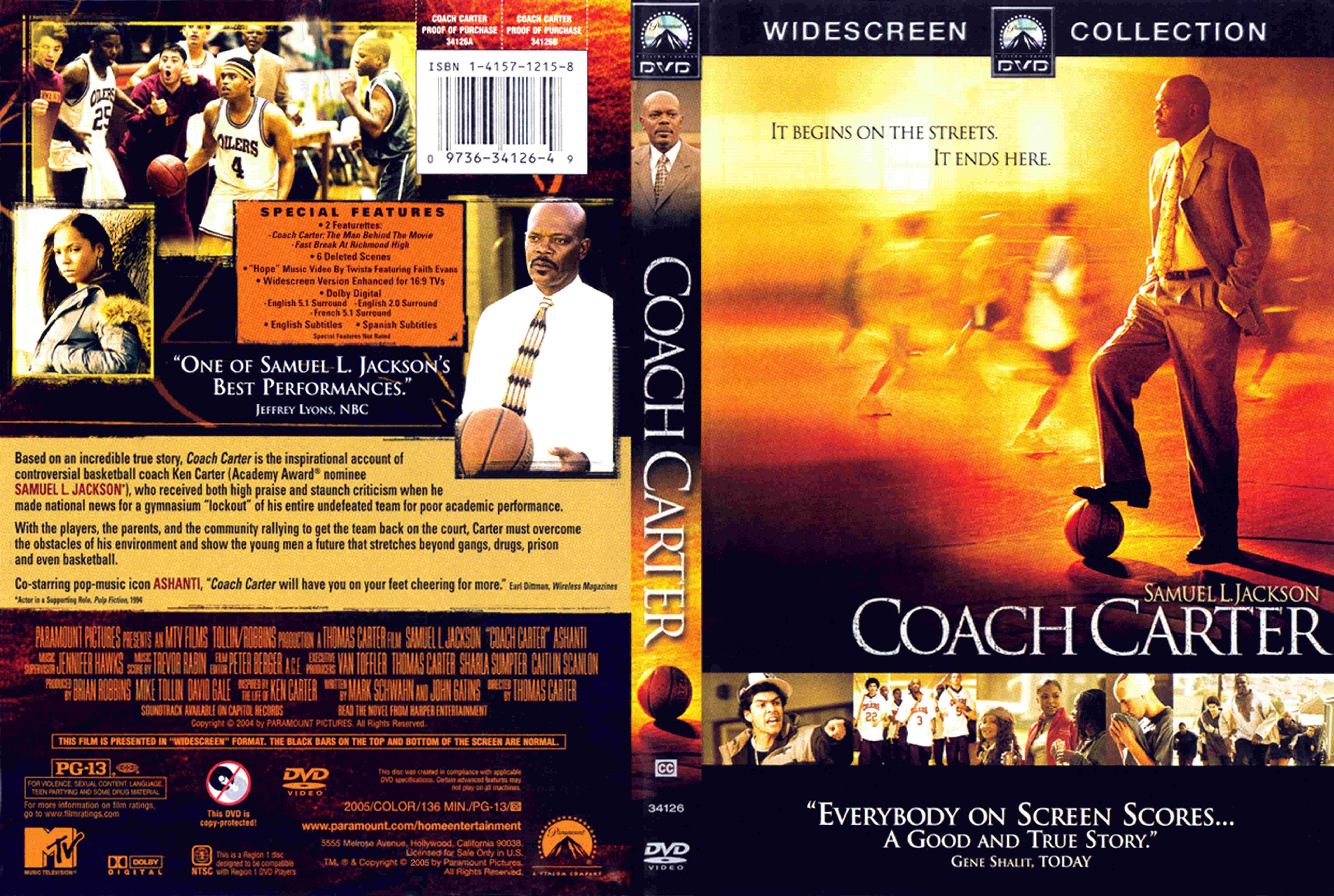 Coach Carter Formato Dvd Coach Carter Dvd Peliculas