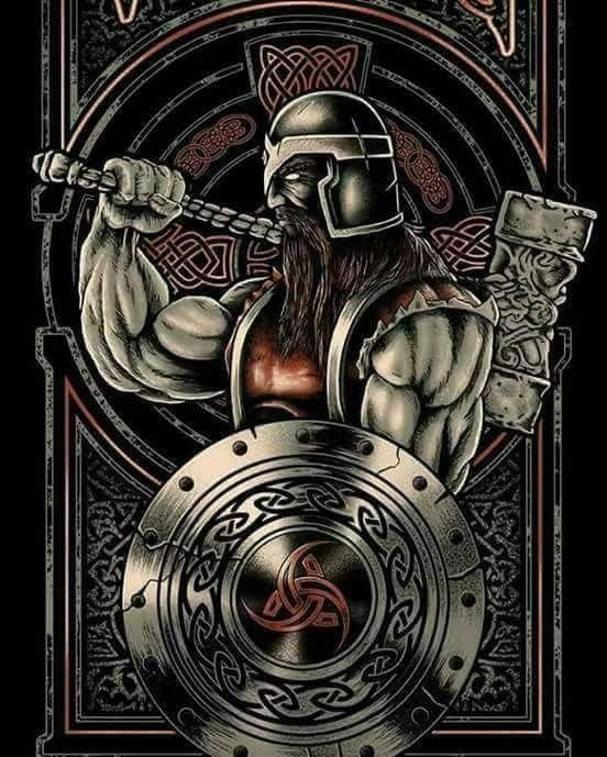 pingl par el vikingo sur viking pinterest mythologie nordique mythologie et nordique. Black Bedroom Furniture Sets. Home Design Ideas