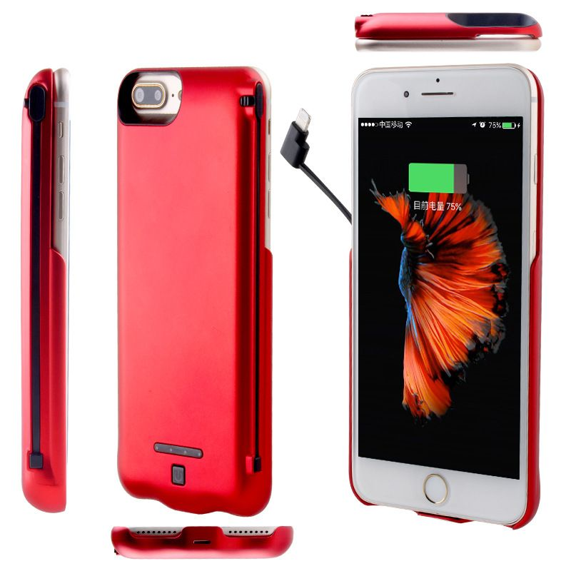 reputable site b7001 c80b4 5.5inch External Battery case 5000mAh Backup Battery Charger Case ...