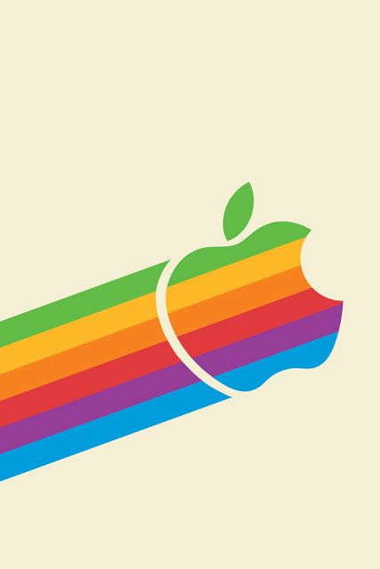 Retro Apple Iphone Wallpaper By Tiptechnews Com Apple Logo Wallpaper Iphone Apple Wallpaper Iphone Ipad Wallpaper