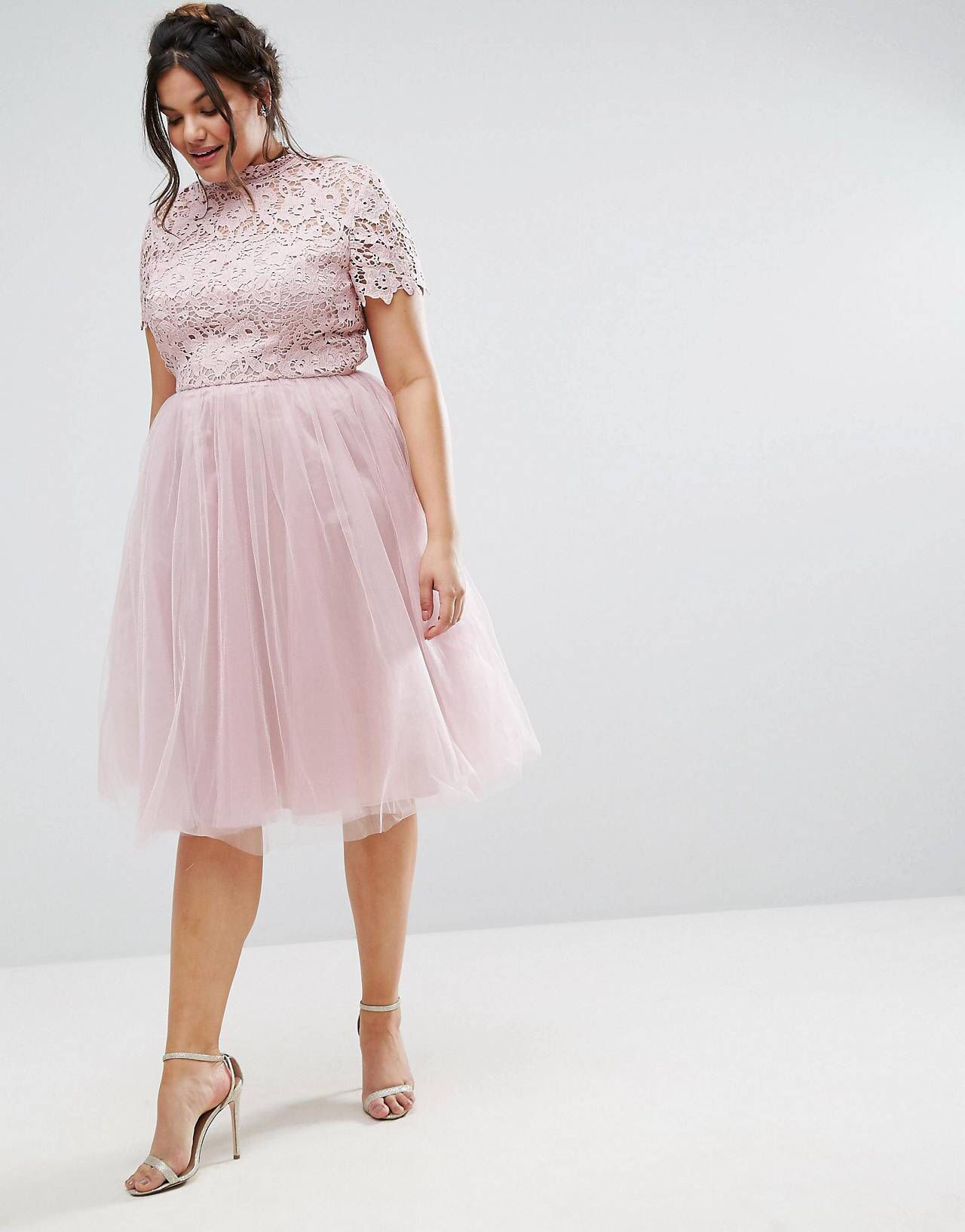 Love This From Asos Plus Size Wedding Guest Dresses Blush Pink Dress Outfit Pink Dress Outfits [ 1633 x 1280 Pixel ]