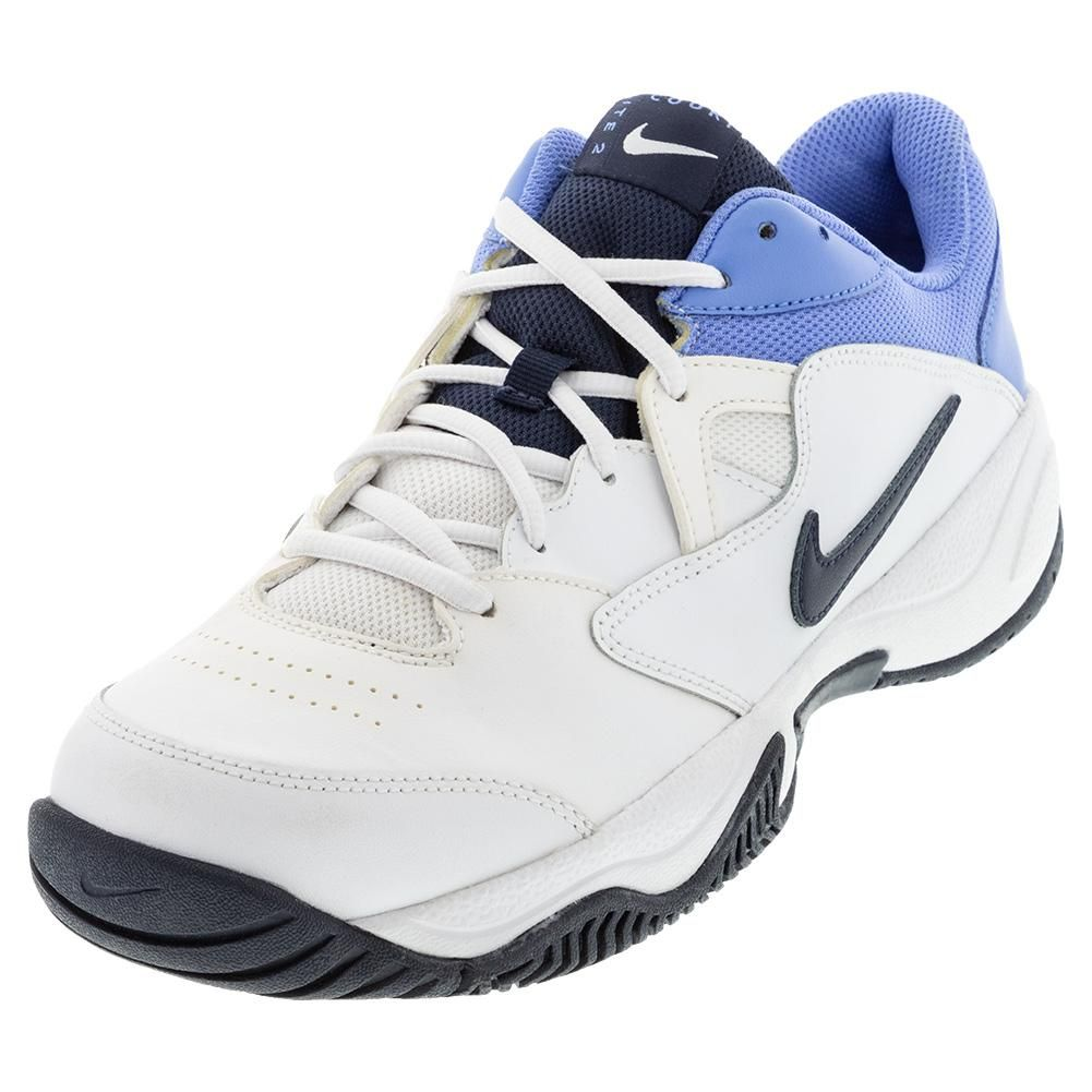 Nike Men's Court Lite 2 Tennis Shoes White and Royal Pulse ...
