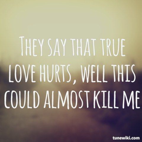Love hurt songs