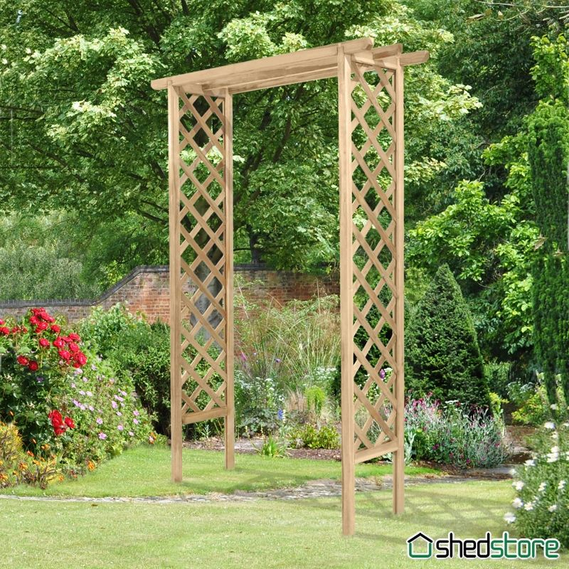 garden arch trellis home design ideas and pictures