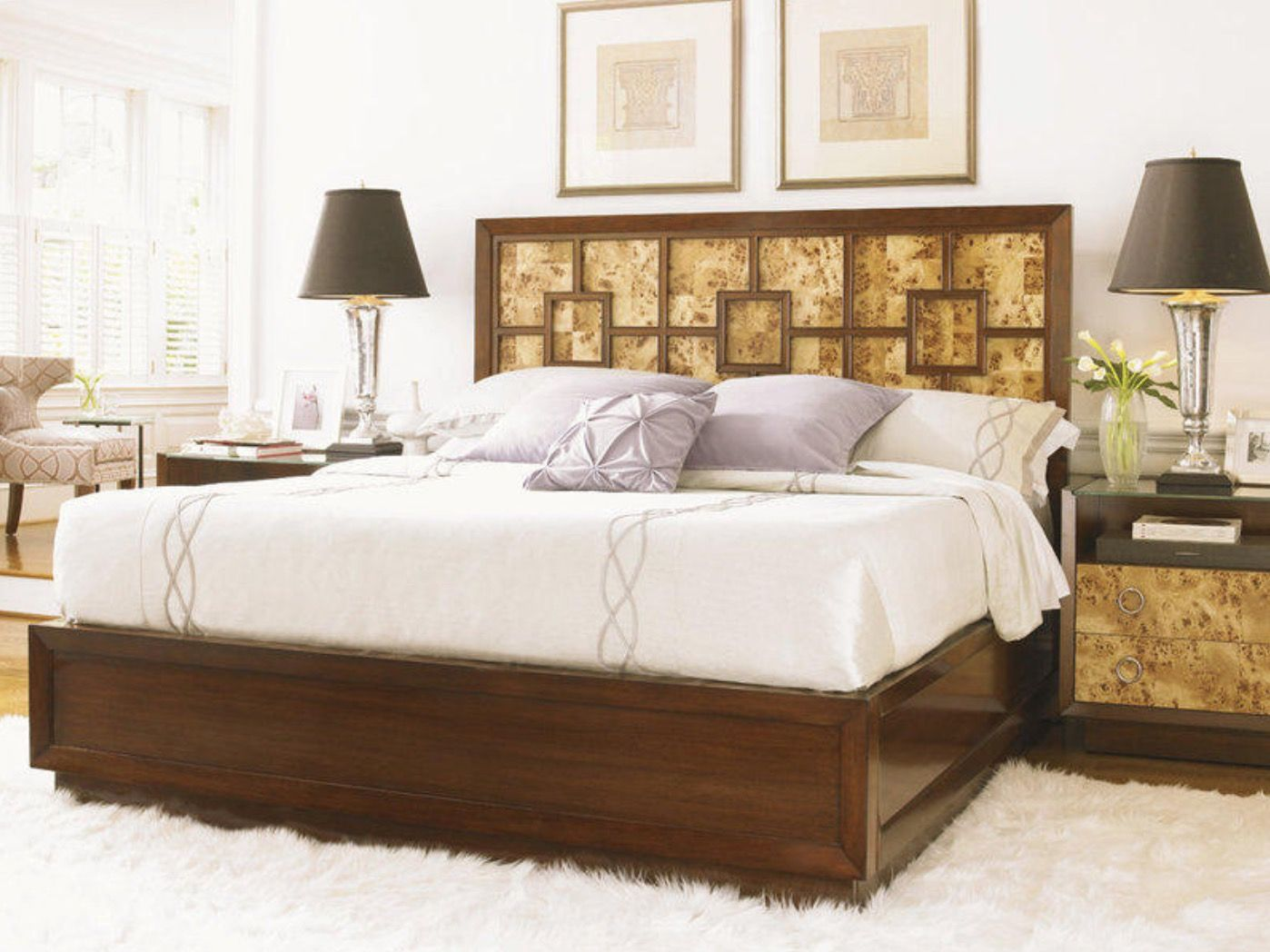 The Harlow King Panel Bedroom Collection Bedroom sets