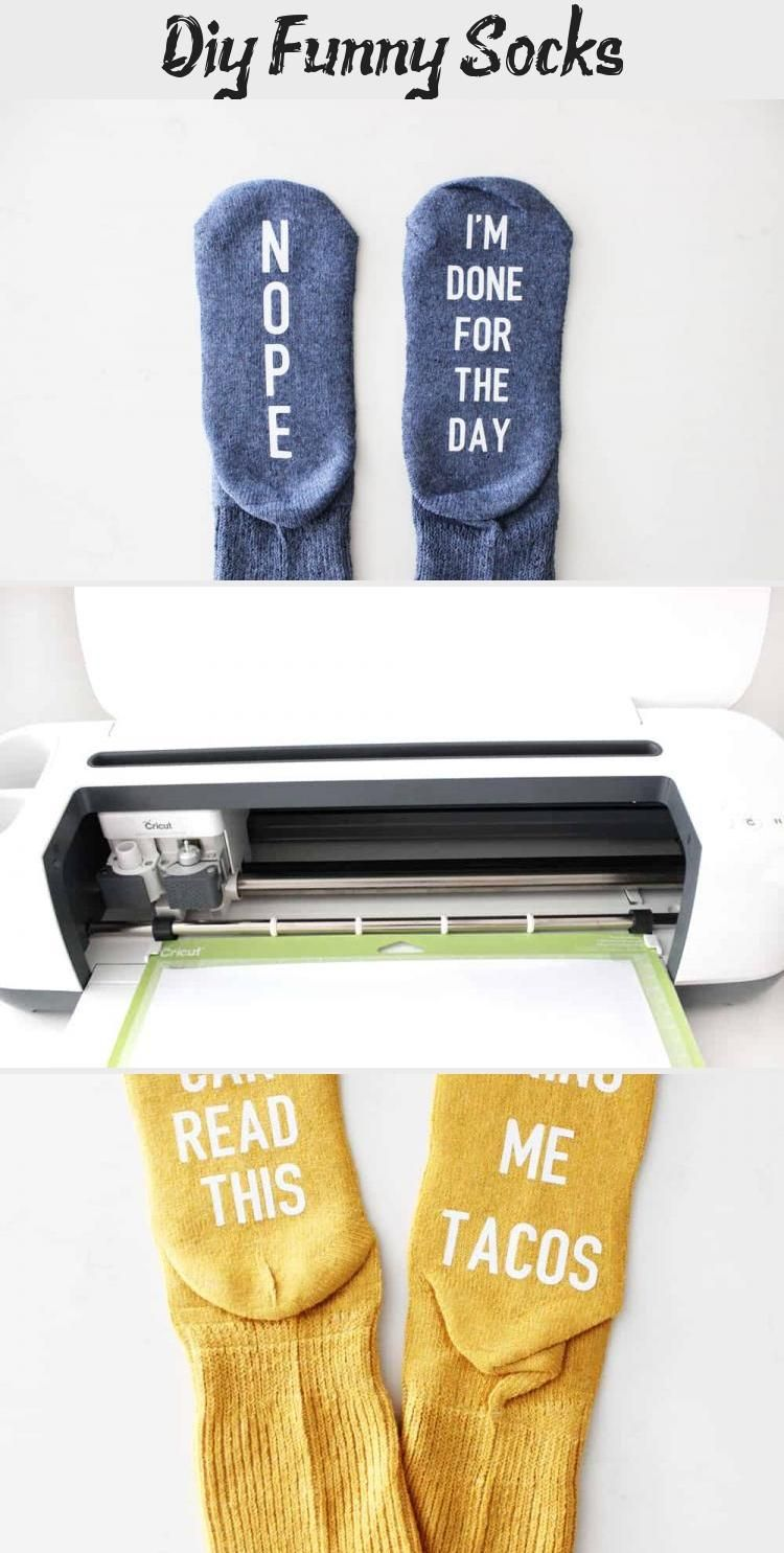 I love this easy funny socks tutorial! They would make perfect gifts for friends…