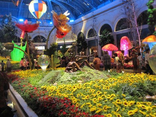 Bellagio Conservatory And Botanical Gardens Vegas