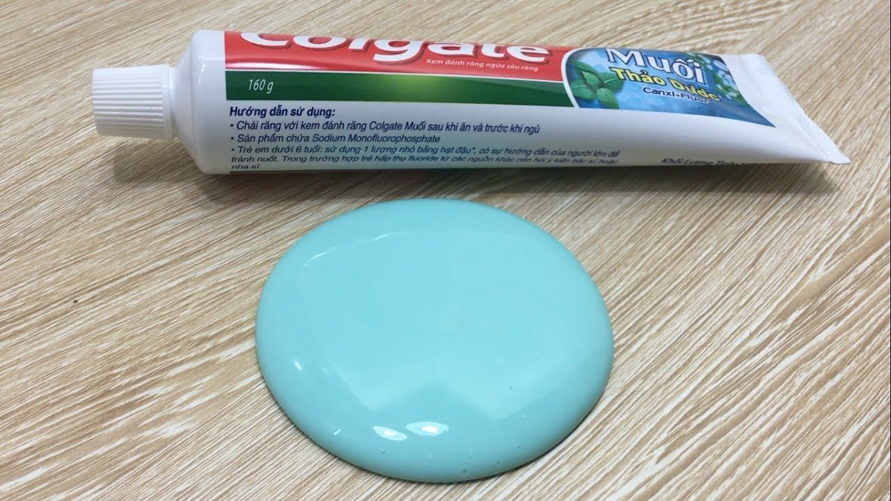 Toothpaste and sugar slime how to make slime with toothpaste 2 toothpaste and sugar slime how to make slime with toothpaste 2 ingredients slime ccuart Image collections
