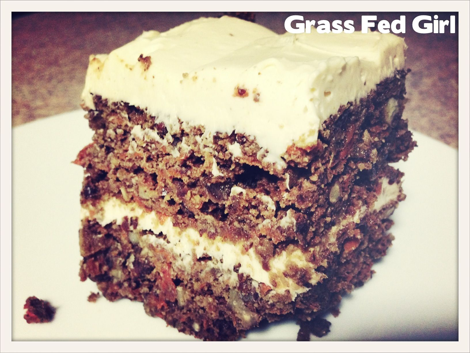 Keto Diet Carrot Cake Recipe: Paleo Desserts - Grass Fed