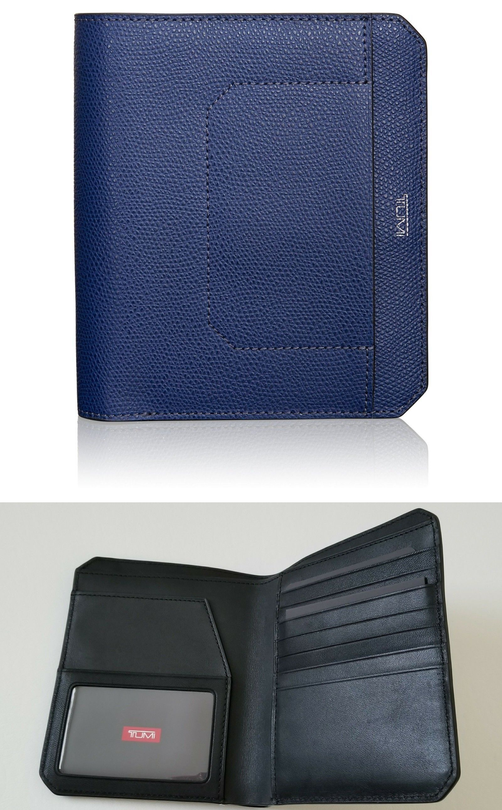 6047a04b9 ID and Document Holders 169271  New Tumi Men Leather Travel Wallet Passport  Case Holder Id