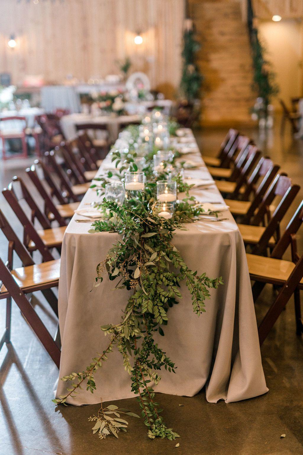 Long Bohemian Wedding Centerpiece Greenery Wedding Centerpiece Wedding Reception Centerpieces Bohemian Wedding Centerpieces Bohemian Wedding Decorations