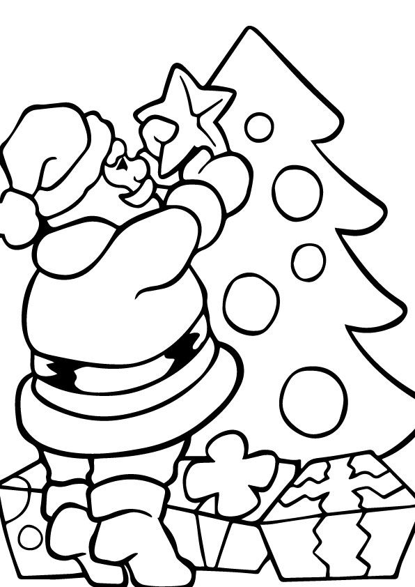 nice Coloring Christmas 08-09-2015_013742 Check more at    www - new christmas tree xmas coloring pages