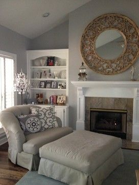 Living Room Chair And Ottoman  Sweethome  Pinterest  Living Fascinating Living Rooms With Ottomans Design Inspiration