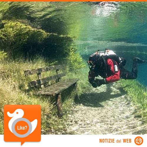 UN PARCO ACQUATICO... NATURALE!  Tragoess è una località montana austriaca celebre per gli eventi climatici che la coinvolgono. Lo splendido lago su cui si affaccia esiste solo nel periodo primaverile/estivo perché per il resto dell'anno al suo posto vi è un meraviglioso parco.  http://shots.it/news_item.php?news_id=171&id=11&lang=it