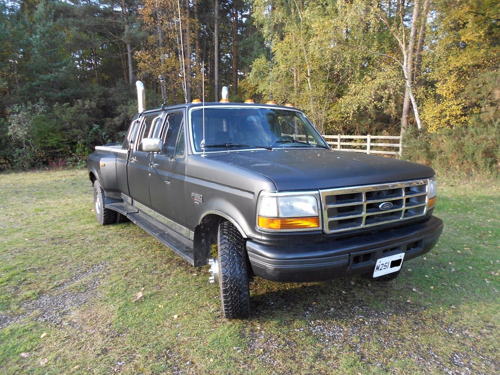1994 ford f350 7.3l diesel dually 8ft bed pickup Ford