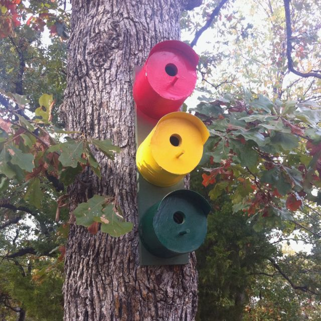 Enjoyable Bird House Made Out Of Old Coffee Cans Clever Craft Ideas Interior Design Ideas Philsoteloinfo