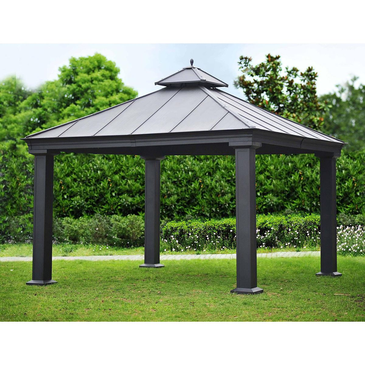Royal Hardtop Gazebo 12 X 12 Sam S Club Hardtop Gazebo Gazebo Backyard Pergola