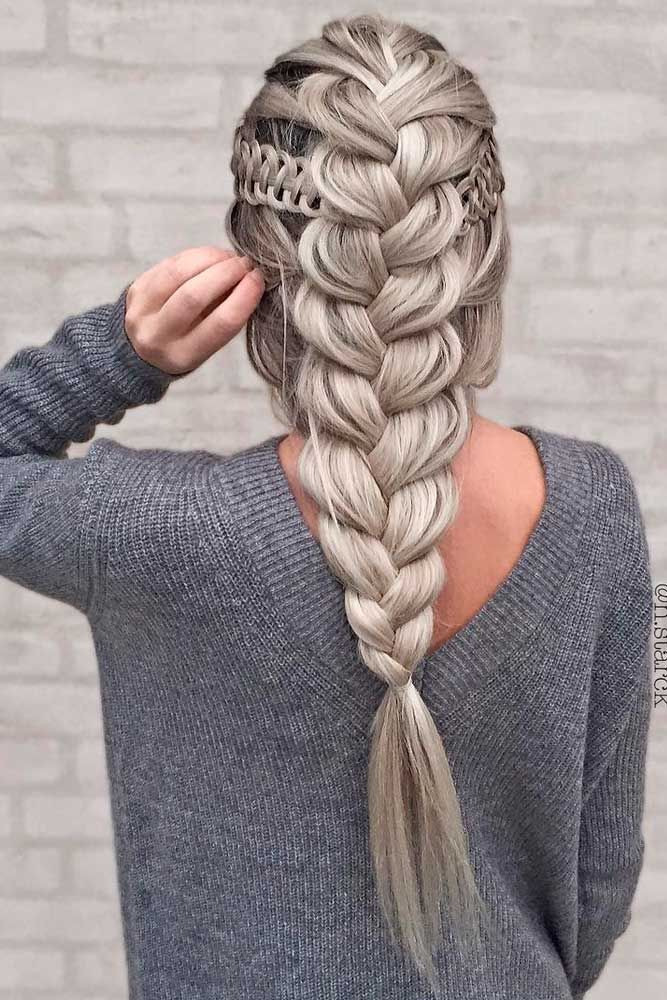 24 Different Types Of Braids Every Woman Should Know Lovehairstyles Com Hair Styles Braided Hairstyles Long Hair Styles