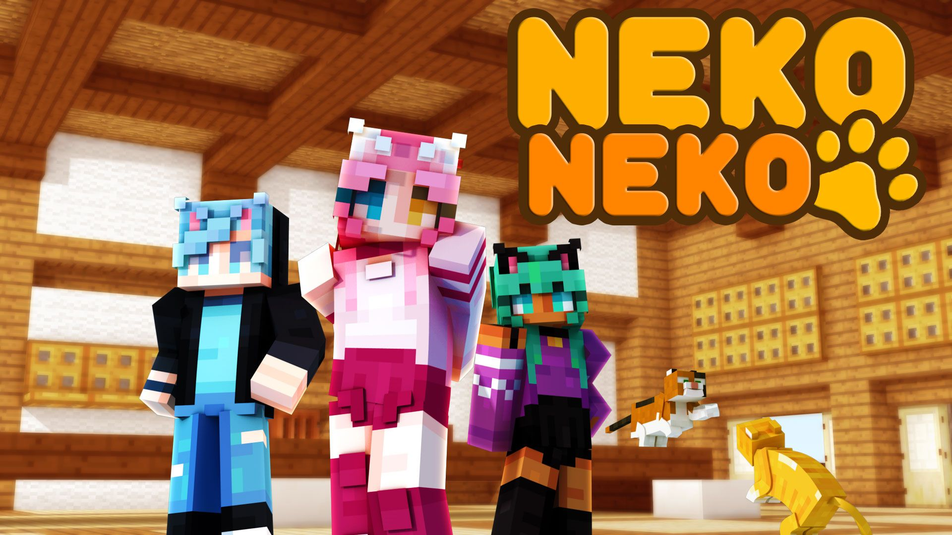 Neko Neko Minecraft Skin Pack In 2020 Neko Minecraft Skin Game Store